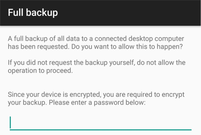 Как сделать Back Up вашего Android устройства в Linux c ADB