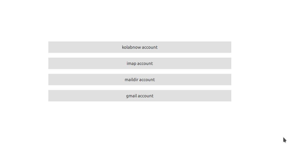 Kube - новый почтовый клиент KDE