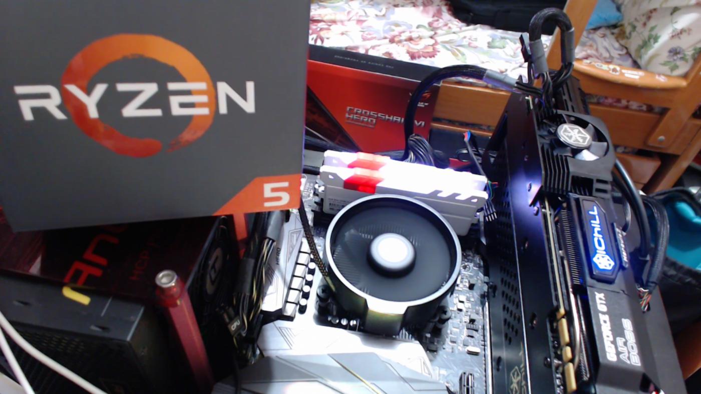 Утечка игровых и синтетических тестов процессора AMD Ryzen 5 1400