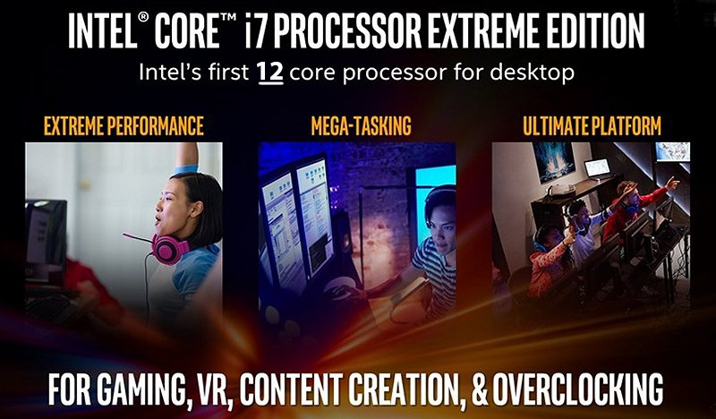 Новый 12 ядер/24 потока поцессор Intell Skylake-X грядёт