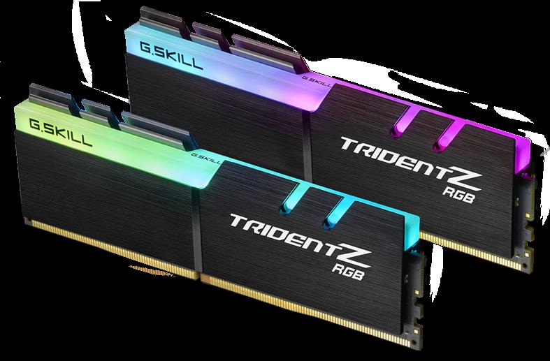 Компания G.Skill во втором квартале 2018 года запускает продажу памяти Trident Z RGB DDR4-4700 MHz