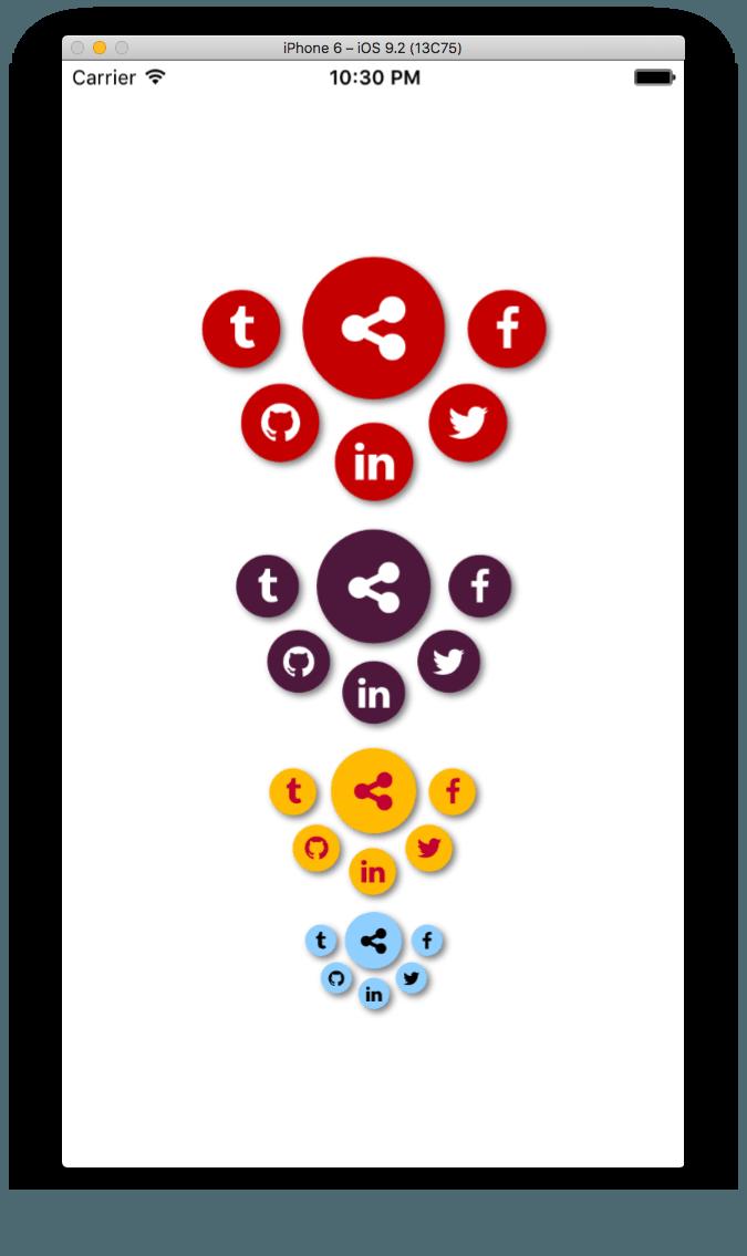 """Создание анимированной кнопки """"Поделиться"""" в NativeScript + Angular"""