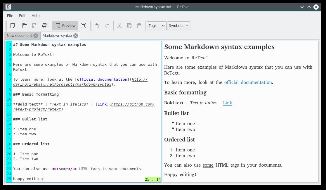 10 лучших редакторов с поддержкой Markdown для Linux