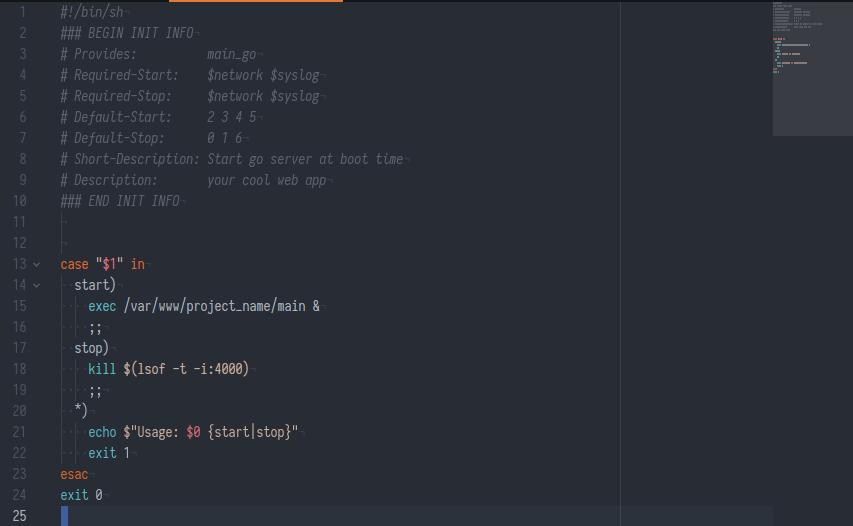 Деплой Golang приложения без использования Docker