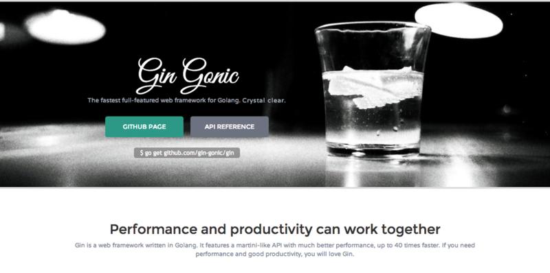 Шаблоны в Gin Web Framework (Golang)