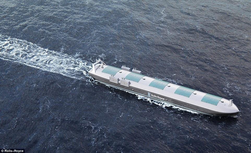 Rolls-Royce разрабатывает судно с дистанционным управлением
