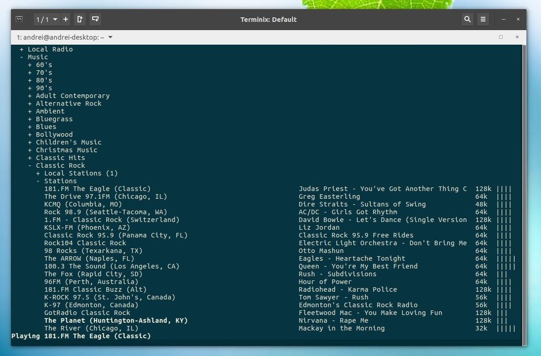 6 приложений радио под linux