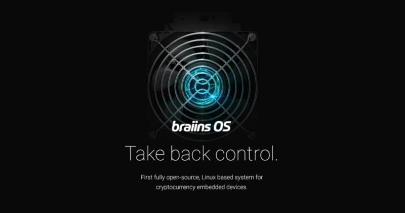 Braiins OS - первая Linux система для майнинга с полностью открытым исходным кодом