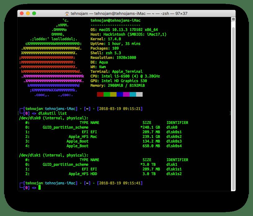 Перенос системы Mac OS Mojave на SSD или новый жесткий диск