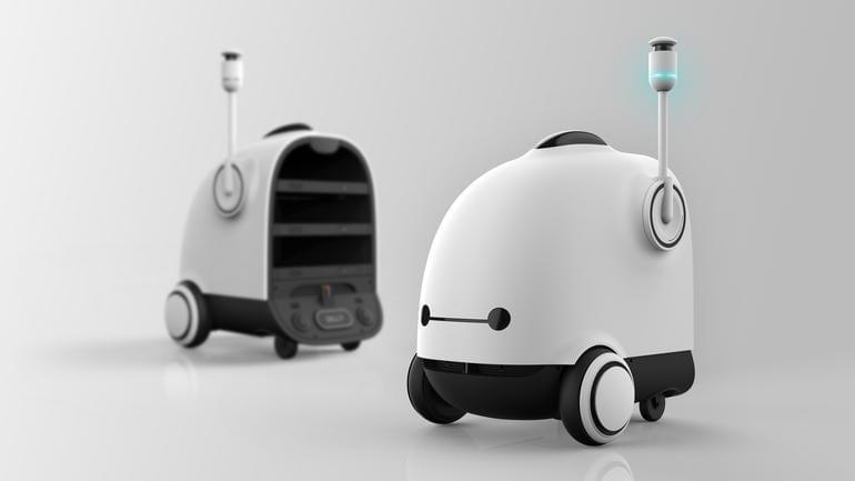 Корейская продовольственная техническая компания разрабатывает робота курьера готовых блюд