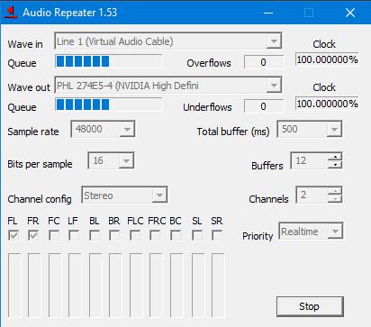 Делаем вывод звука на два устройства (Linux,Windows, Mac OS X)
