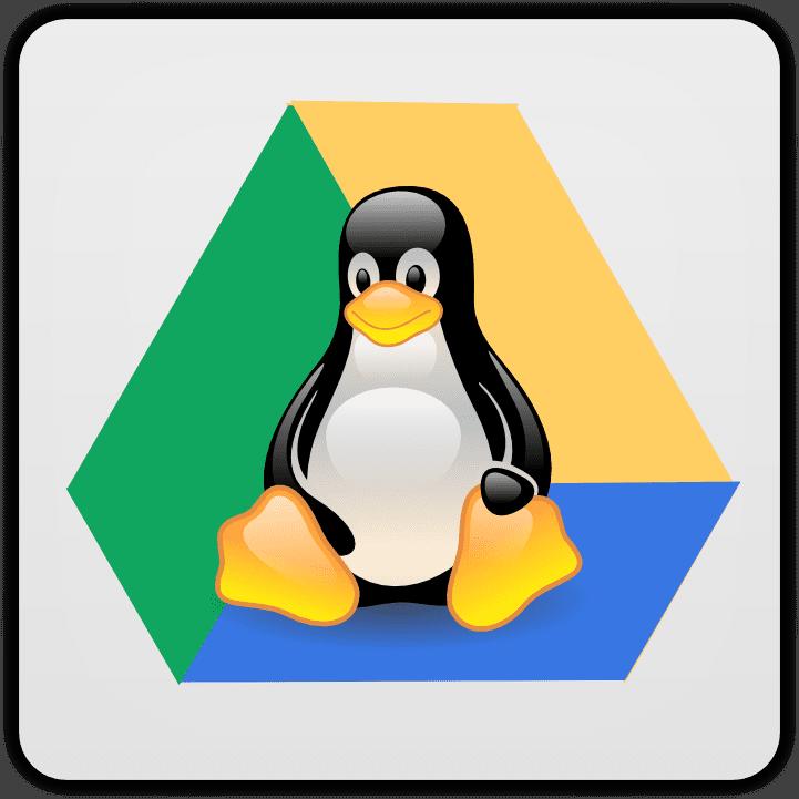 google drive linux client